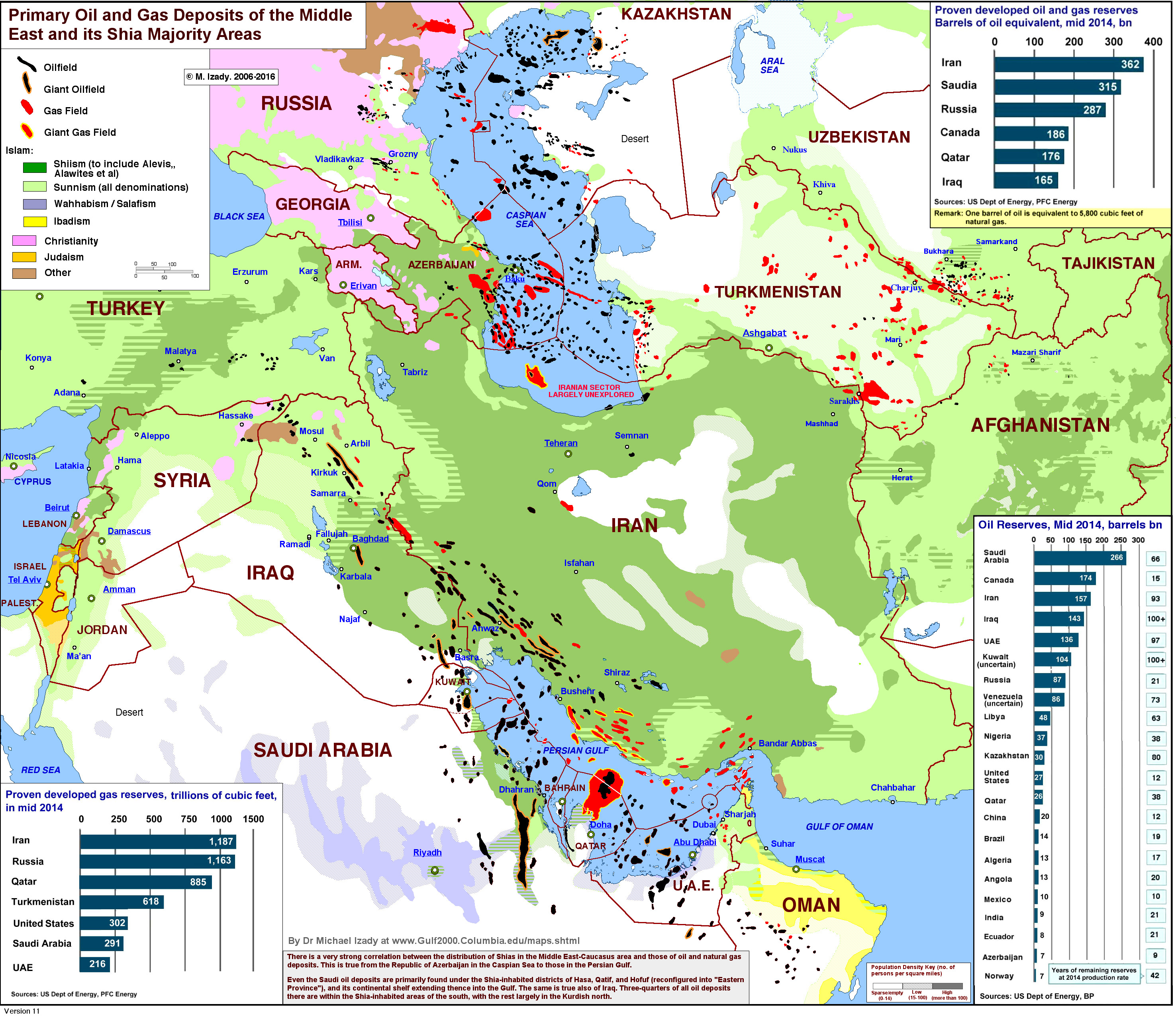 One Map That Explains the Dangerous SaudiIranian Conflict