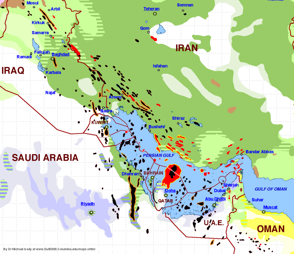 One Map That Explains the Dangerous Saudi-Iranian Conflict