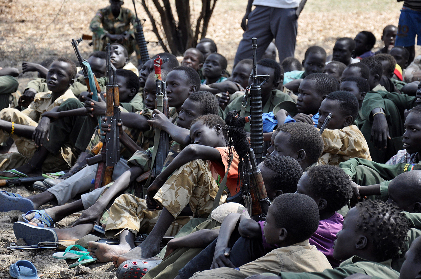 Image result for the return of child soldiers in south sudan