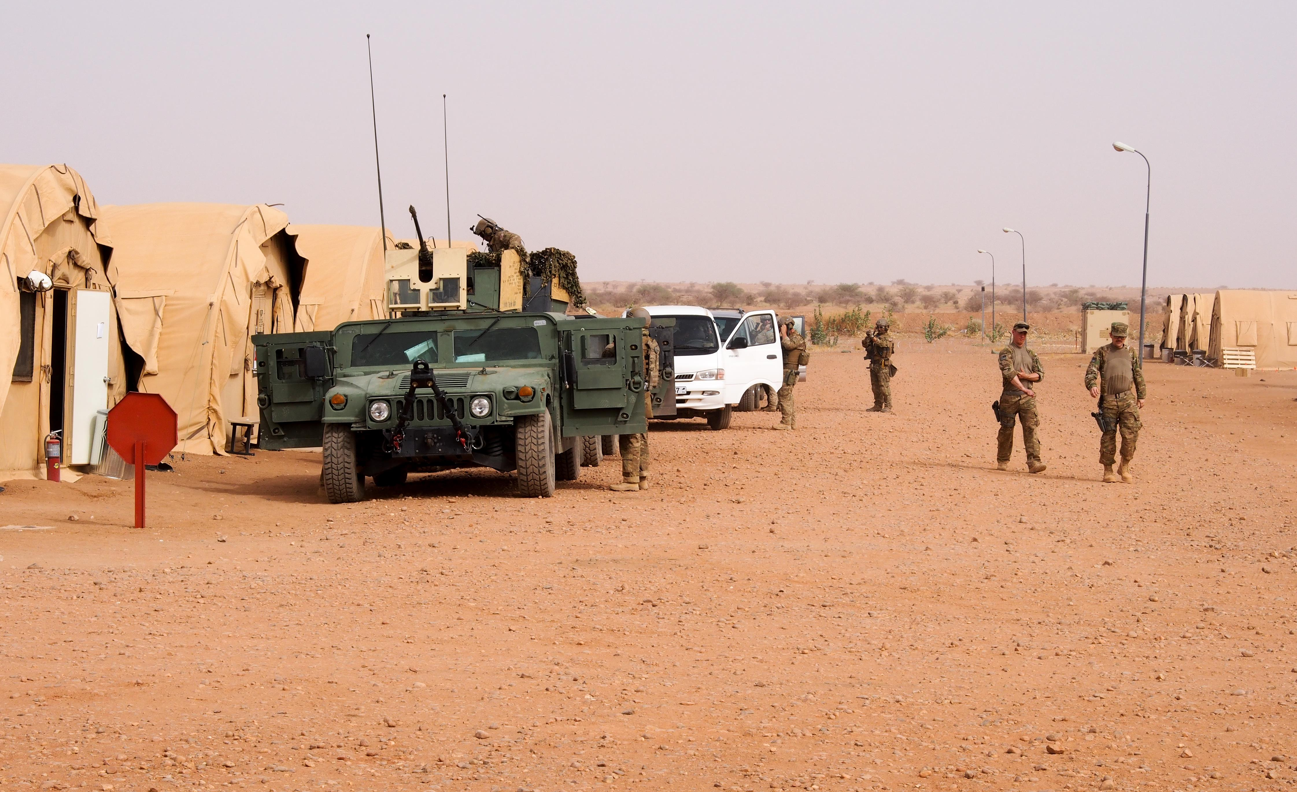 U S  Military Building $100 Million Drone Base in Africa