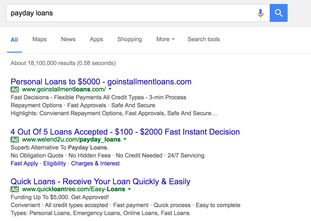 payday advance financial loans not any credit assessment