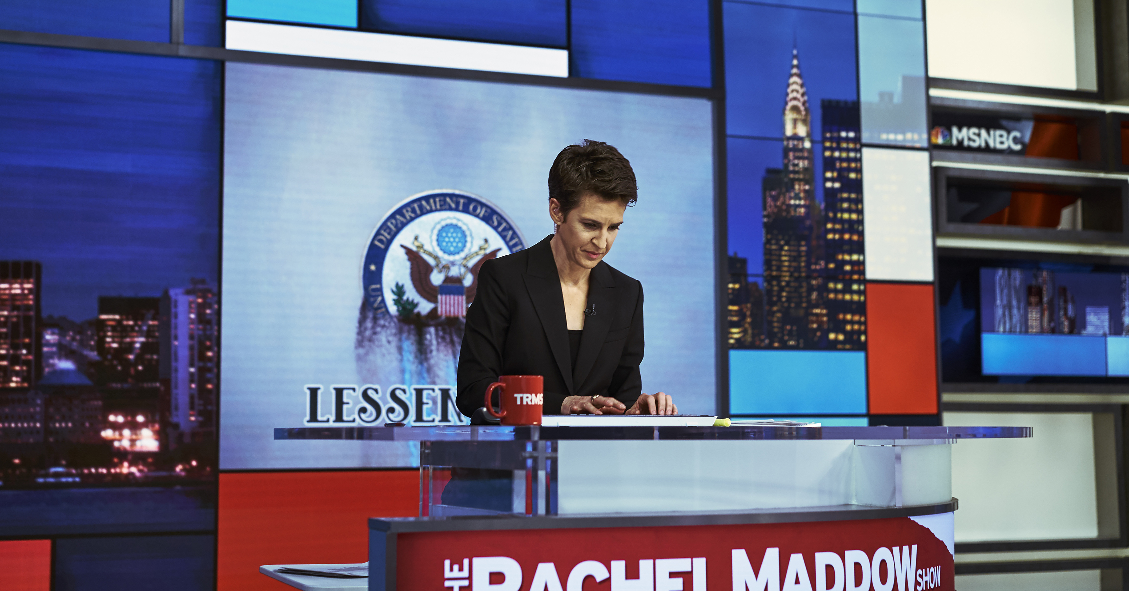 MSNBC's Rachel Maddow Sees Russia Connection All Over