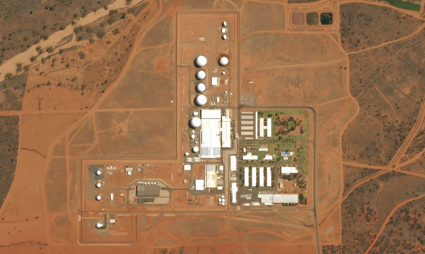 The NSA Spy Hub in the Heart of Australia