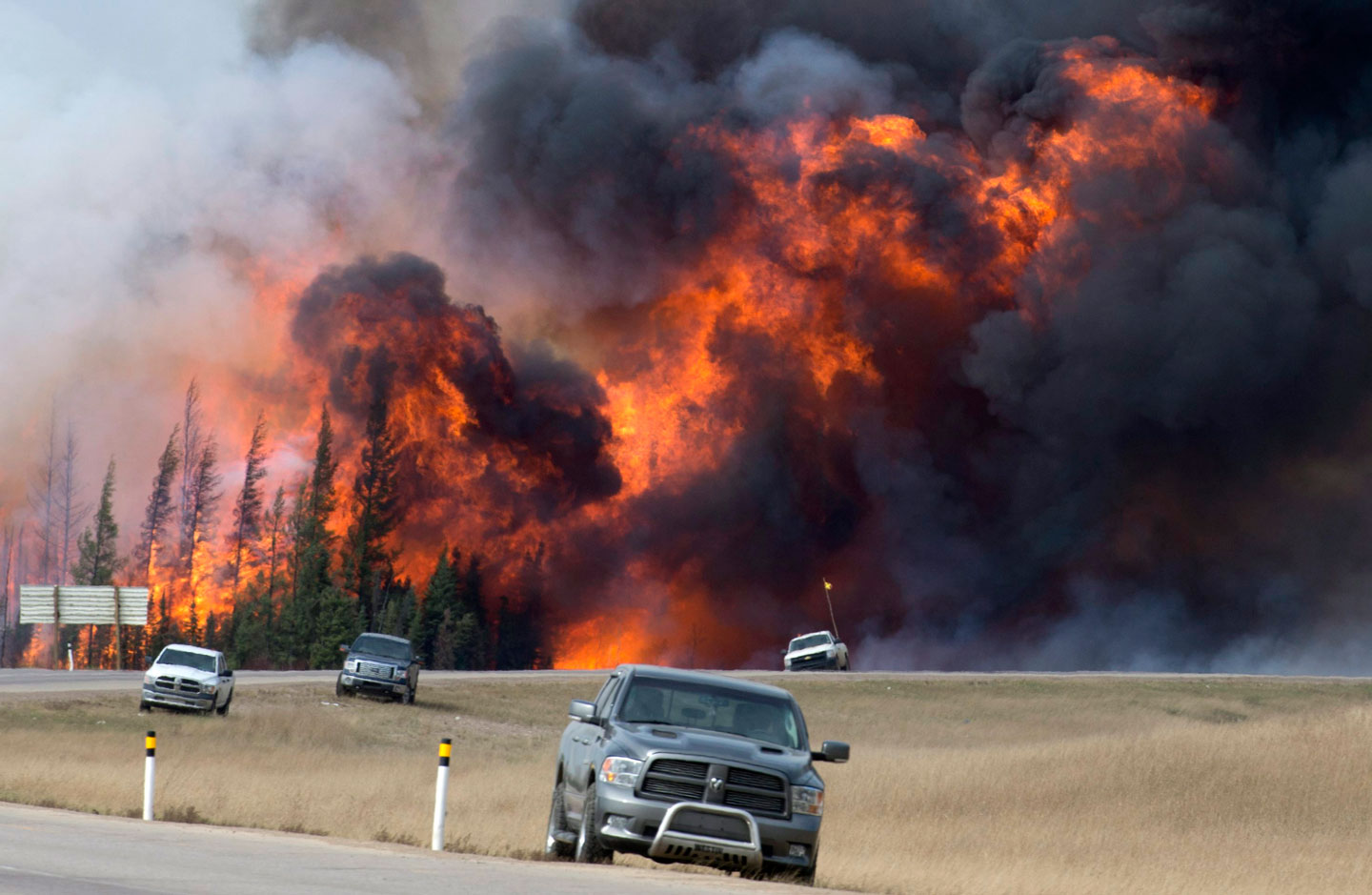 A Summer Of Wildfires And Hurricanes