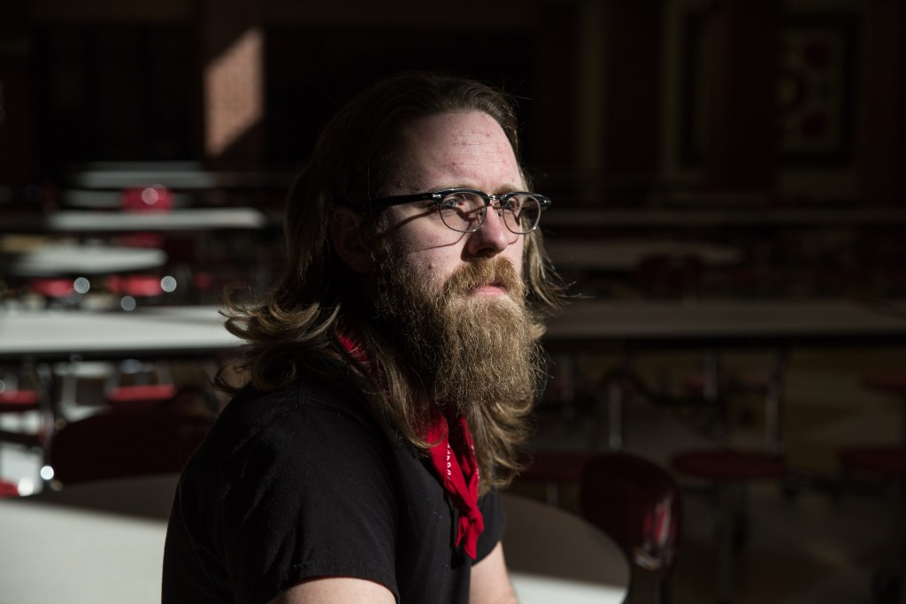 "Travis Wells is in his sixth year of teaching science to freshman and at-risk students at Unviersity High School in Morgantown, WV. ""I am working two jobs right now, and during the summer I pick up two to three more jobs just to make it so I can stay here. We're here in this point where we are now because we have a bunch of teachers who are dedicated to be here, and we're not being allowed to stay here.""This is not at teacher strike asking for teacher pay. This is a worker uprising asking we want our state to focus on its state and its people and its infrastructure so that people can stay here, so that businesses will relocate here, and so we can grow."""