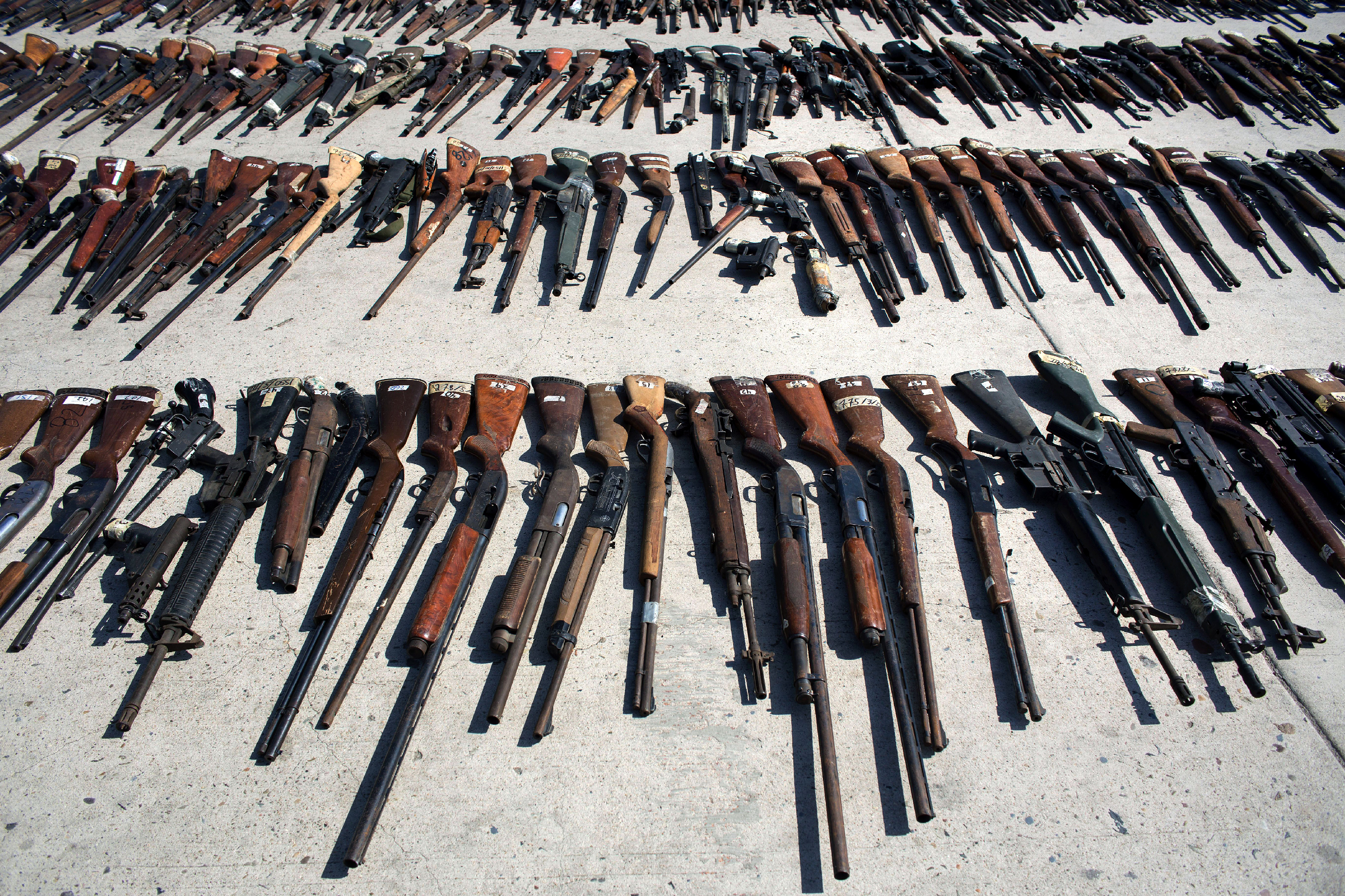 How U S  Guns Sold to Mexico End Up With Security Forces Accused of