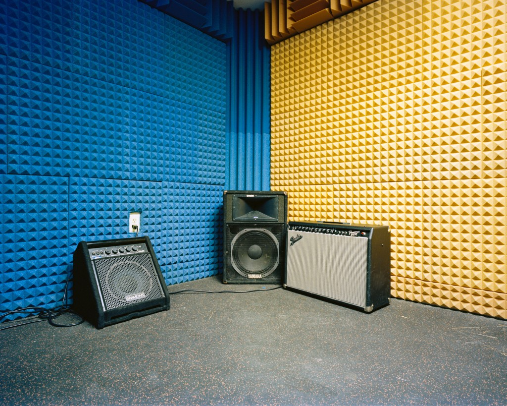 Liberty Center Band Room (Analog 2015)