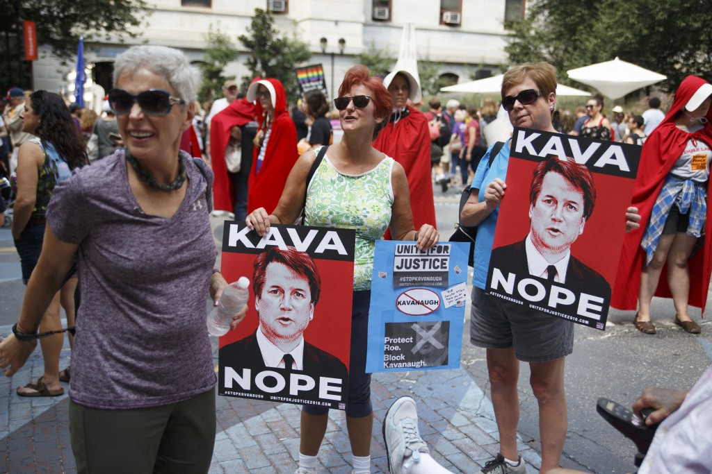 d9b23f98e09 There Is No Grassroots Energy Rallying for Brett Kavanaugh.