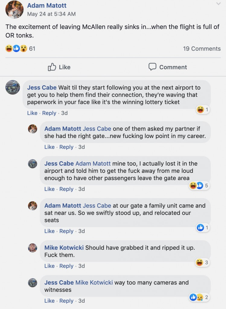 Border Patrol Agents Attempted to Delete Racist Posts