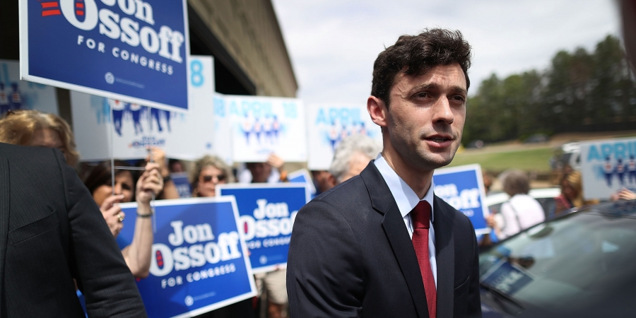 "Jon Ossoff Is Back: ""I'm Still Standing and I'm Ready to Fight"""