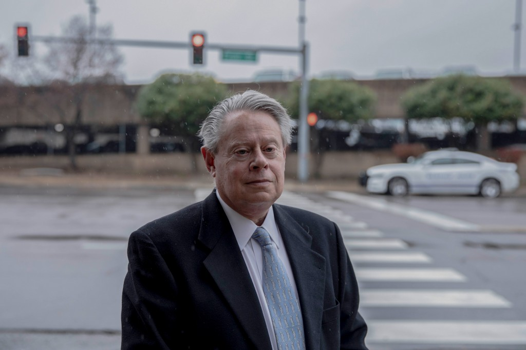 November 21, 2019 - Memphis, TN:  Memphis civil rights attorney Bruce Kramer stands for a portrait in downtown Memphis.