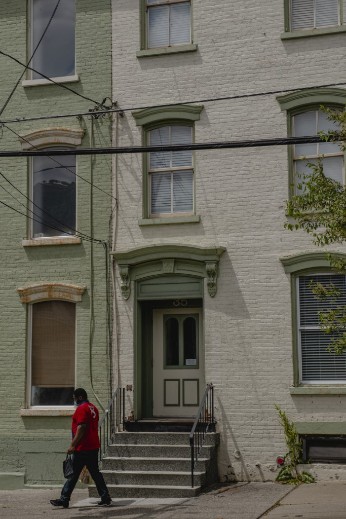 One of the two Horizon Houses on Elizabehth Street in Albany, seen here May 16 2020.