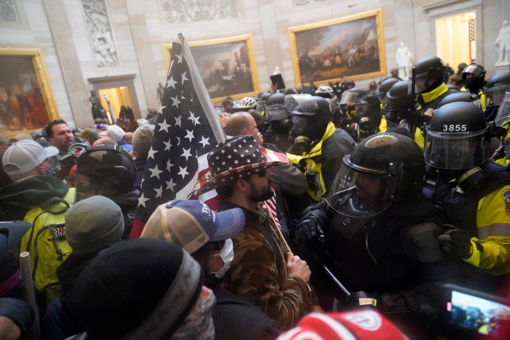 Protesters storm the Capitol