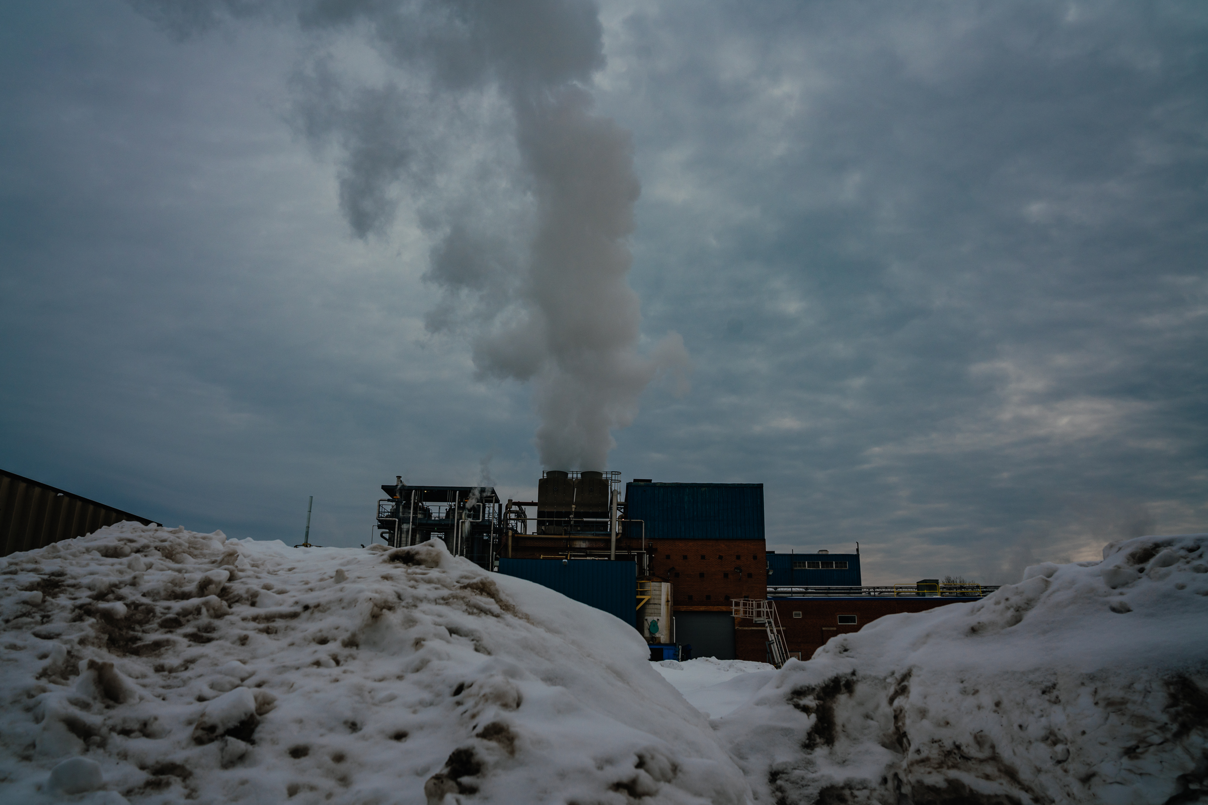 Vantage Specialty Chemicals, February 21, 2021. Vantage is located in Gurnee, IL and uses ethylene oxide to make other chemicals and consumer products. Photographed by Jamie Kelter Davis for The Intercept.